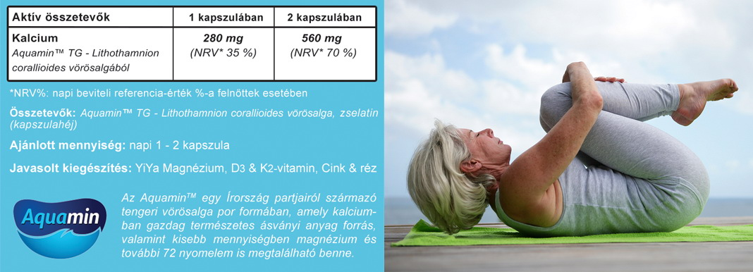 YiYa Aquamin Kalcium kapszula tabletta összetétel